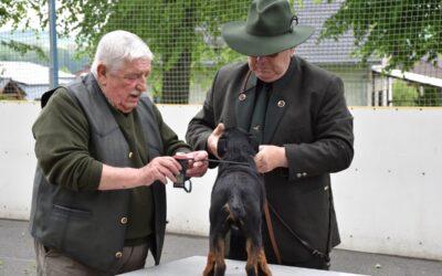 Jarní svod loveckých psů OMS Přerov 29. května 2021